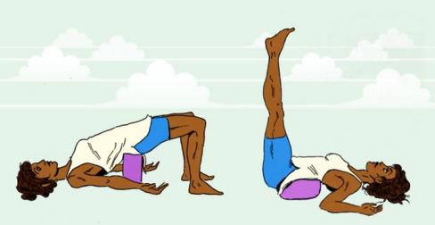 Resultat d'imatges de yoga imagenes restaurativo con cojines